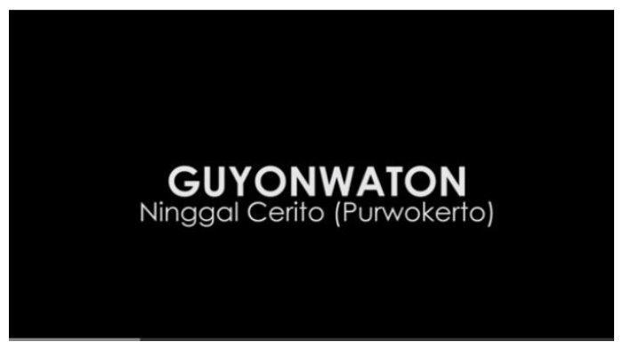 Chord Gitar Ninggal Cerito (Purwokerto) - Guyon Waton, Aku Sadar Diri Tekoku Mung Nggriseni