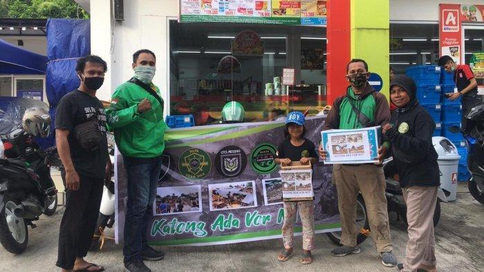 Komunitas Ojol Kota Ambon Galang Dana untuk Korban Bencana di NTT