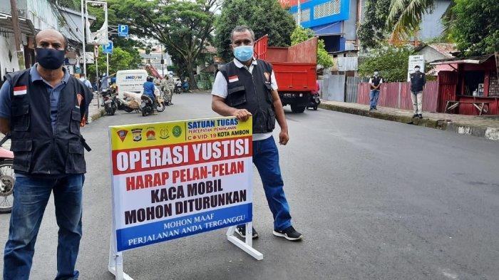Operasi Yustisi di Ambon, 3 Dinyatakan Reaktif dari 30 Pelanggar Yang Terjaring