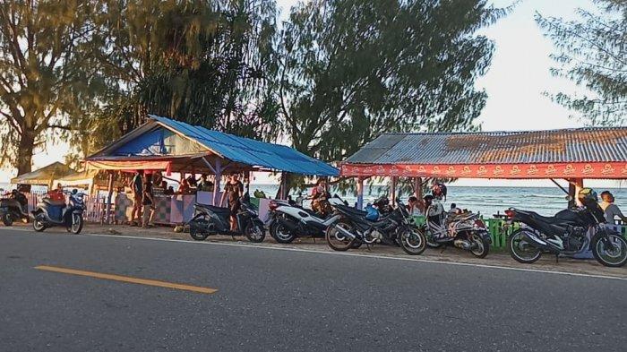 Pantai Pal Lima Namlea Ramai Dikunjungi Wisatawan, Bahkan Ada Pengunjung dari Bogor