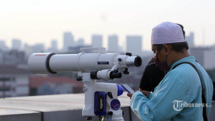 Sidang Isbat Pemantauan Hilal Penentu Hari Raya Idul Fitri 1 Syawal 1441 H Digelar Hari Ini