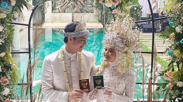 Dinda Hauw dan Rey Mbayang Sah Menjadi Suami Istri