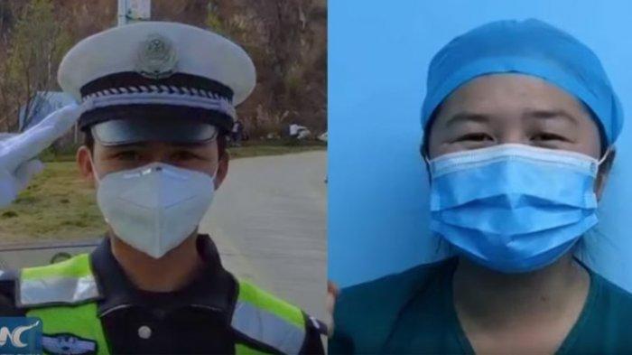 Pasangan Polisi dan Perawat di China Rela Tunda Pernikahan Demi Tugas Perangi Virus Corona