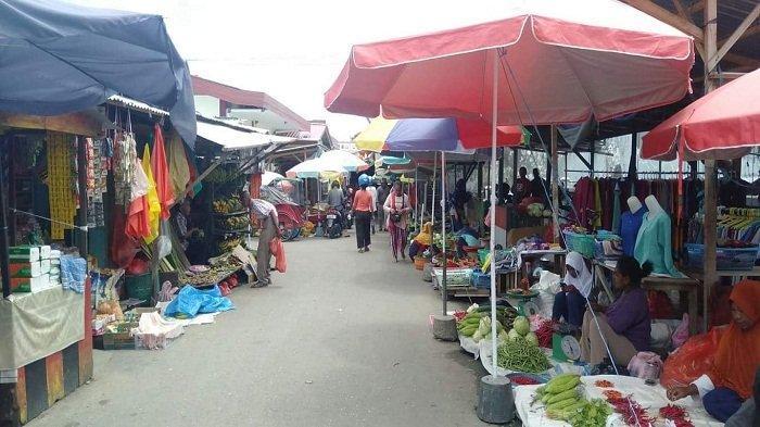 Disperindag Gelar Operasi Pasar Cek Stok Bahan Pokok Jelang Lebaran di Kota Masohi Hari Ini