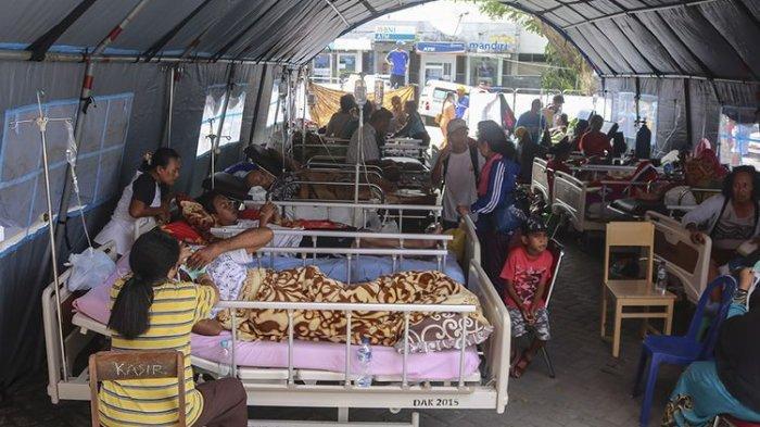 Kisah Pengungsi Gempa Ambon Maluku Tepat 10.30 WIT Lahirkan Bayi, Wagub Langsung Ajak ke Rumah