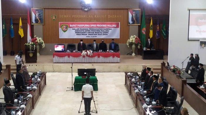 Halimun Saulatu Resmi Jadi Anggota DPRD Maluku, Ini Harapan Murad Ismail