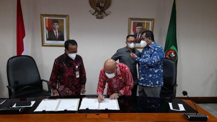 Pertamina Sepakati Kerja Sama Rekonsiliasi Data PBBKB dengan Pemda Maluku