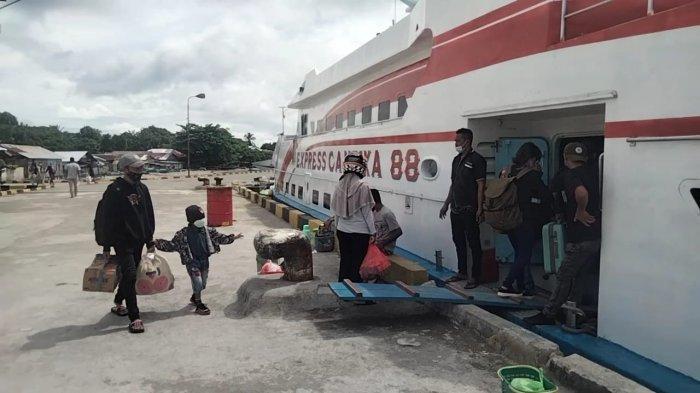 Arus Balik Lebaran, Pelabuhan Amahai Sepi Penumpang
