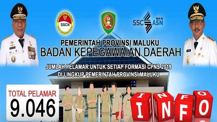 HARI Ini Pengumuman Hasil Seleksi Administrasi CPNS Pemprov Maluku, 9.046 Pelamar Siapa Lulus?
