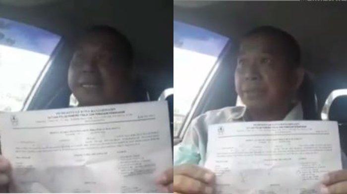 VIRAL Video Pria Heran Didenda Rp 100 Ribu karena Tak Pakai Masker, padahal Hanya Sendiri di Mobil