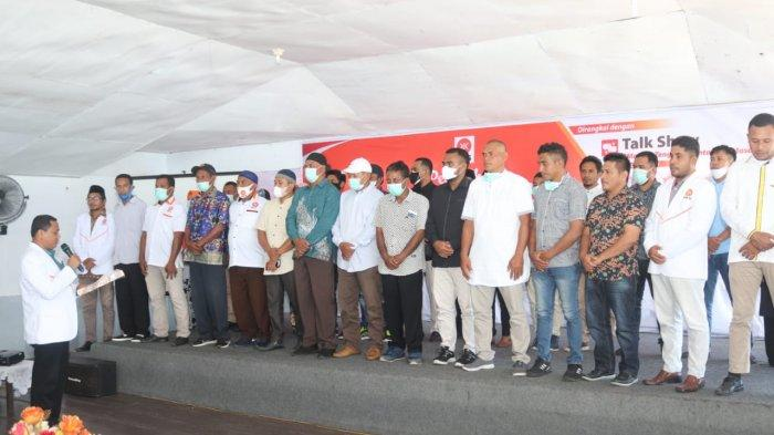 Lantik 19 DPC PKS se-Maluku Tengah, Begini Harapan Arman Mualo