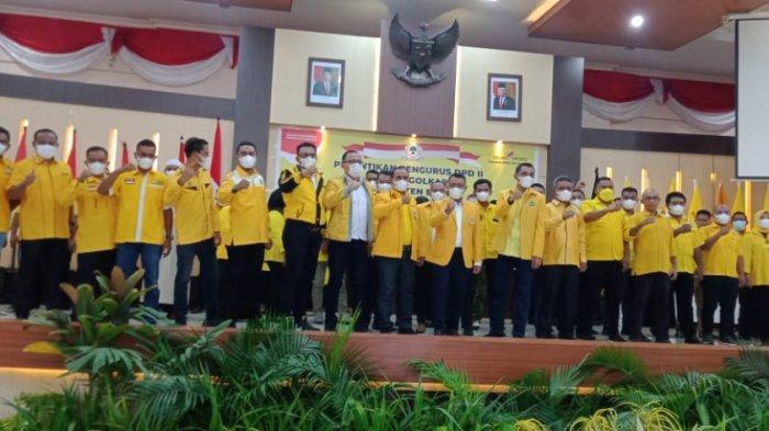DPD II Partai Golkar Kabupaten Buru Optimis Raih Kursi Parlemen 2024