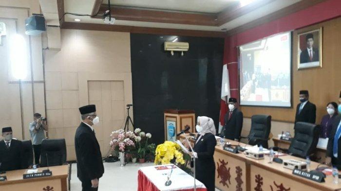 Indra Tanaya Resmi Dilantik Jadi Anggota DPRD Kota Ambon Gantikan Almarhum Chris Latumahina
