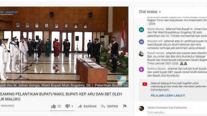 Ucapan Selamat ke Bupati dan Wakil Bupati SBT dan Kepulauan Aru, Ada Yang Pakai Bahasa Daerah