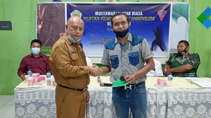 Hendra Abubakar, Ketua Perguruan Silat Lokal, Terpilih Jadi Ketua IPSI Kota Ambon