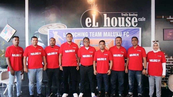 Peluncuran Maluku FC di El House Cafe, Januari lalu.