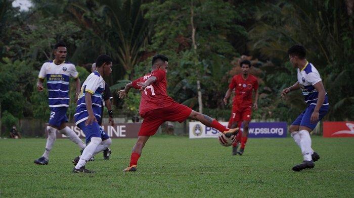 Maluku FC Ungguli Bupolo FC 7-1, Berikut Foto Pertandingan