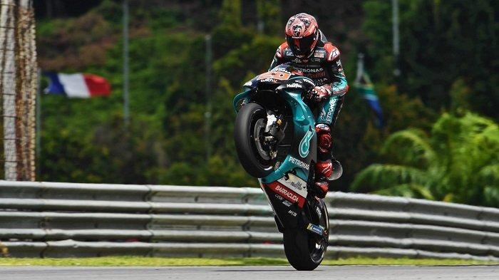 LIVE TV Online MotoGP Malaysia 2019, Quartararo & Vinales Bersaing Grid, Rossi Start Keenam