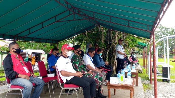 Meski Diguyur Hujan, Pembukaan Pertandingan Perdana Liga 3 Maluku Tetap Digelar