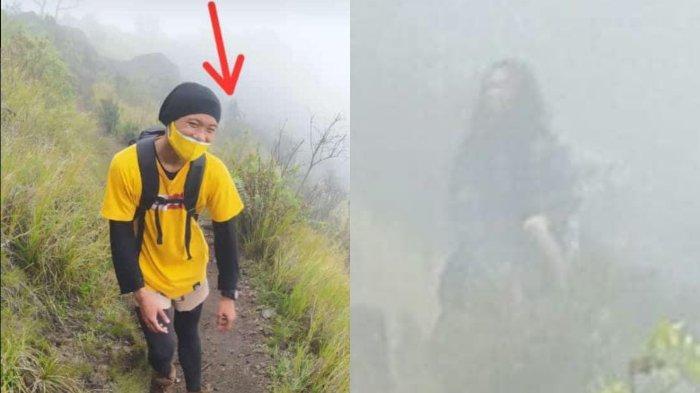VIRAL Pria Merasa Ada Penampakan di Fotonya saat Mendaki Gunung Sumbing, Ternyata Pendaki Lain