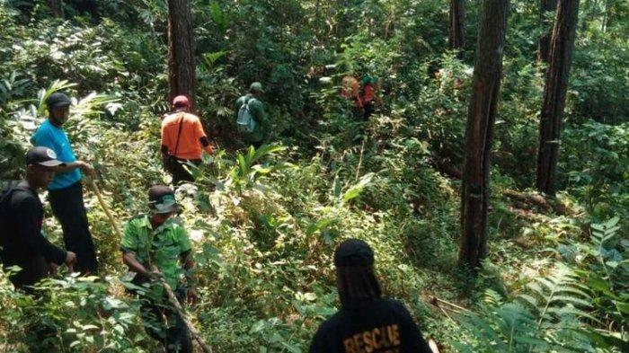 Pencarian Kasilun yang hilang di hutan sejak Senin (1/3/2021)
