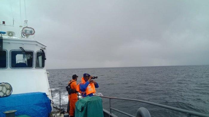 Pencarian KM Hentri Perairan Tanimbar - Maluku Masih Terkendala Cuaca Buruk