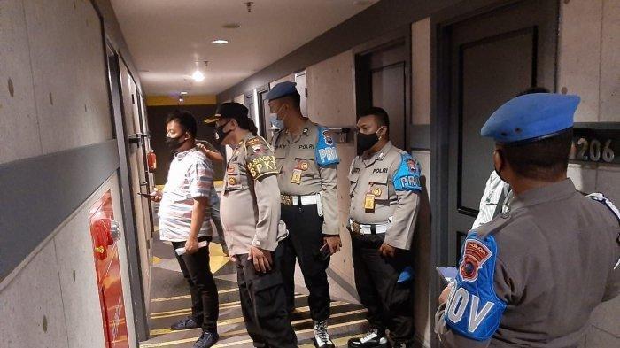 Penggerebekan polwan dan oknum polisi di sebuah kamar hotel