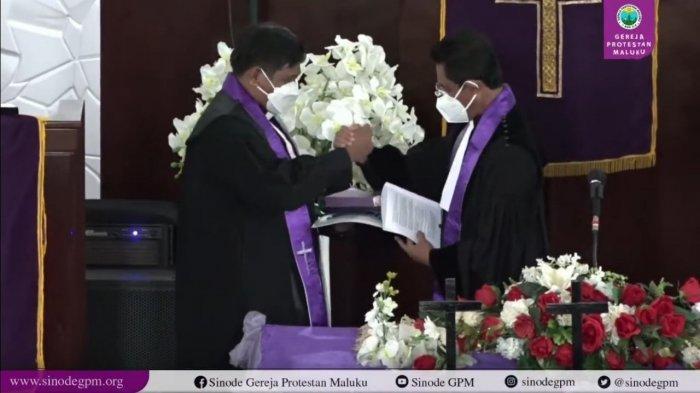 Setelah 5 Tahun Pimpin Sinode, Pendeta Werinussa Pamit