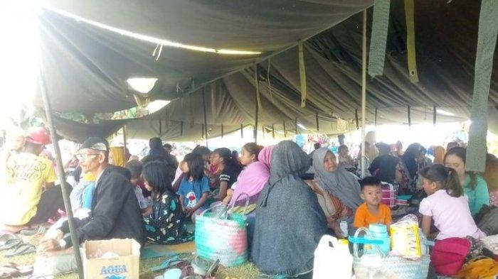 Kisah Pengungsi Gempa Maluku, 1 Tenda Isi 5 KK, hanya Dapat 1 Kg Beras hingga Bayar saat Berobat