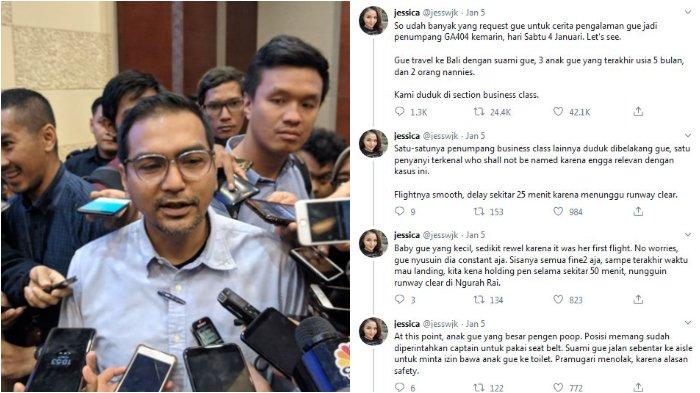 Viral Penumpang Ditahan Pilot karena Dituduh Menghina Maskapai, Bos Garuda Minta Maaf