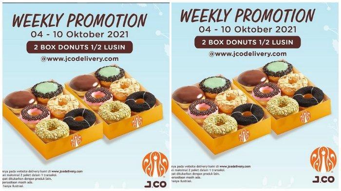 Promo JCO: Beli 2 Box Donuts 1/2 Lusin Cuma Rp 85.000