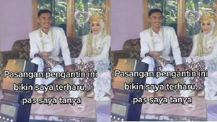 Viral Resepsi Pernikahan tanpa Dekorasi, Pengantin Duduk di Kursi Sofa, Hanya Habiskan Rp 7 Juta