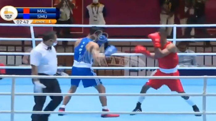 2 Petinju Maluku Lolos ke Final PON XX Papua