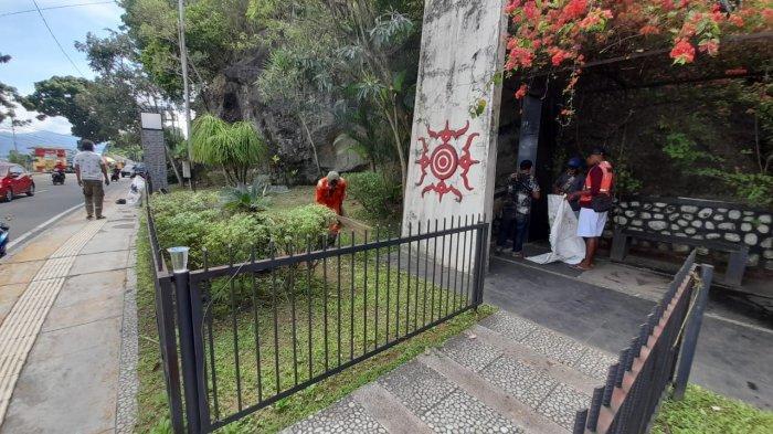 Dinas DLHP Akui Lalai Hingga Lupa Bersihkan Taman Pahlawan Nasional Maluku