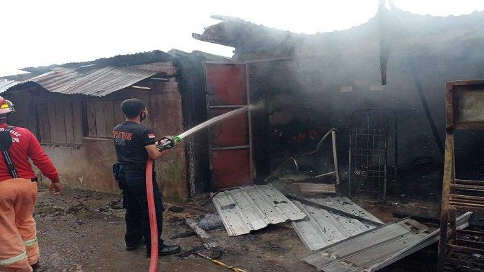 Kios Bensin di Gunung Nona Kota Ambon Terbakar, Sepeda Motor Hangus