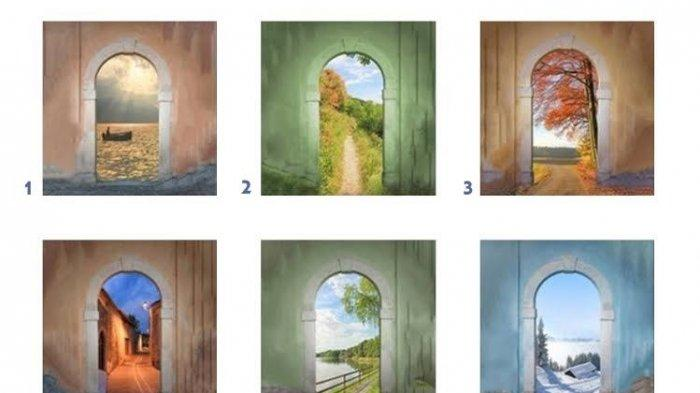 Tes Kepribadian: PilihanmuTunjukkan Karaktermu, Pilih Satu Pintu dalam Gambar Ini!