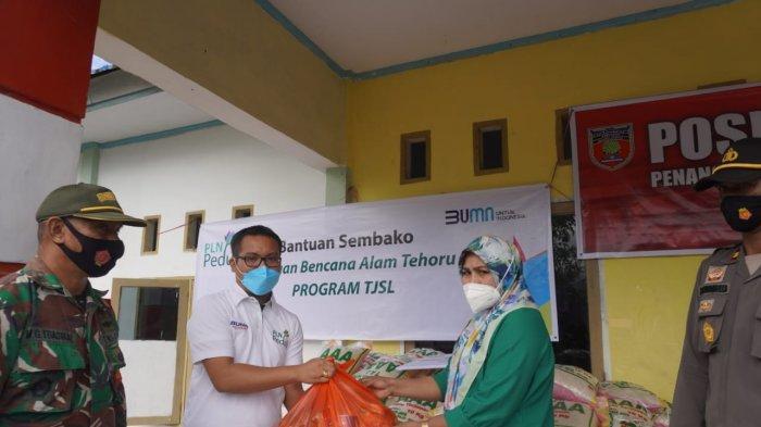Peduli Warga Terdampak Gempa Maluku Tengah, PLN Salurkan Bantuan Sembako Senilai 50 Juta Rupiah