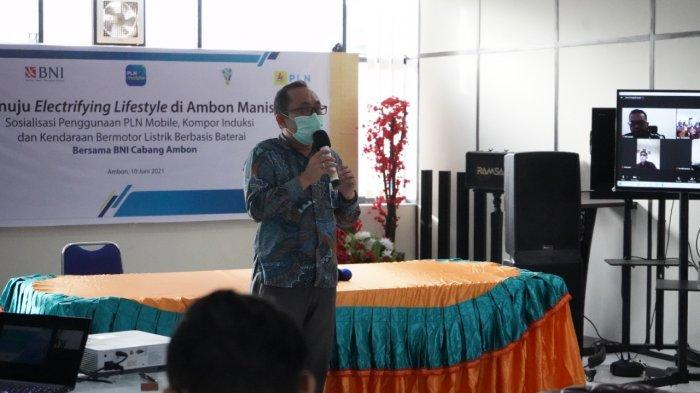 Dorong Penerapan Electrifying Lifestyle di Ambon, PLN Maluku Sosialisasi Kegunaan Produk Kelistrikan