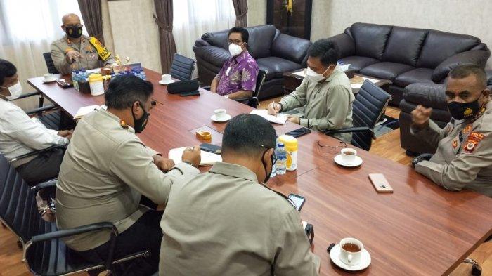 Kapolda Maluku Minta Sidang Sinode GPM Ke-38 Terapkan Protokol Kesehatan
