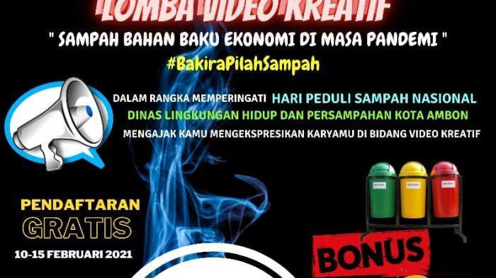 Kompetisi video kreatif yang diselenggarakan DLHP Ambon.