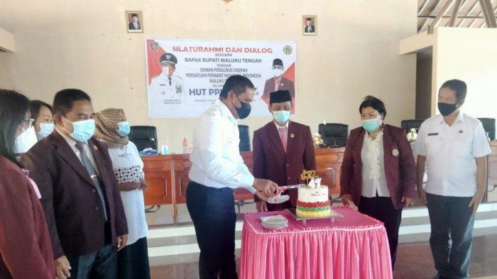 Bertemu Bupati, Ini Permintaan Persatuan Perawat Maluku Tengah