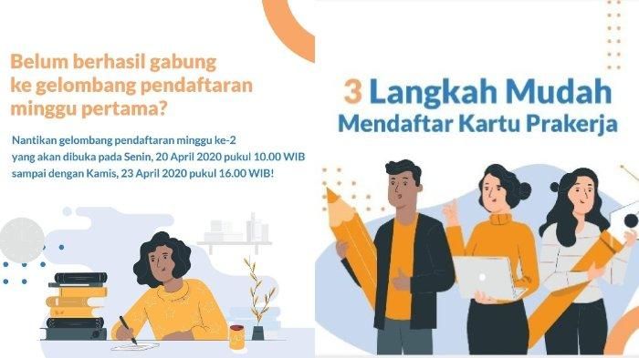 Pendaftaran Kartu Pra Kerja Gelombang 2 Dibuka Mulai Hari Ini, Hanya Berlangsung 4 Hari!