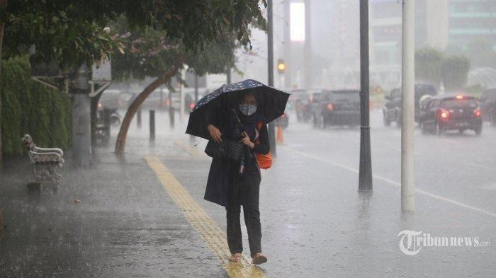 BMKG Beri Peringatan Dini Hujan Lebat di Ambon dan Empat Wilayah ini