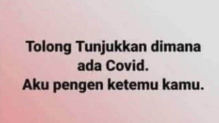 Pria di Jombang yang tidak percaya Covid-19