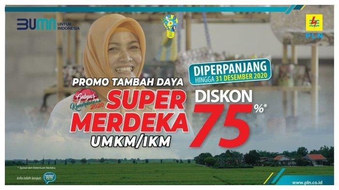 Sebanyak 586 UMKM/IKM Di Maluku dan Maluku Utara Manfaatkan Diskon Tambah Daya Listrik Super Merdeka