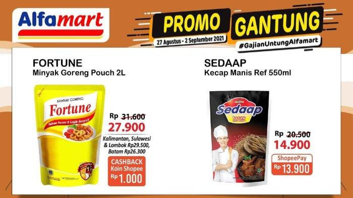 Promo Gantung Alfamart Periode 27 Agustus - 2 September 2021: Kecap Sedaap Refill 550ml Rp 13.900
