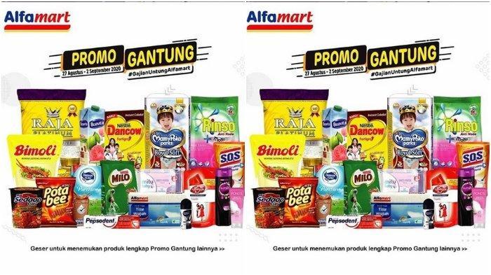 Promo Gantung Alfamart Berlaku hingga 2 September, Tebus Pakai ShopeePay atau GoPay Lebih Murah