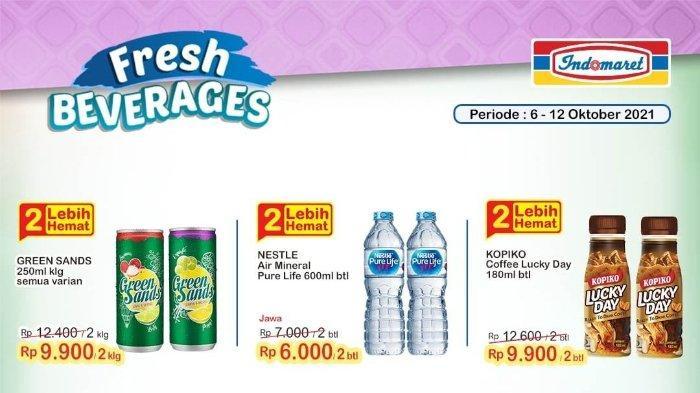 Katalog Promo Super Hemat Indomaret Berlaku hingga 12 Oktober: Green Sands 250ml Rp 9.900/2 Kaleng