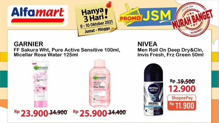 Promo JSM Alfamart 8-10 Oktober 2021: Nivea Men Roll On 50ml Rp 11.900 dengan Shopeepay