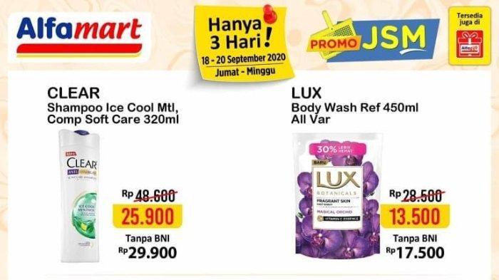 Katalog Promo JSM Alfamart 18-20 September 2020, Nikmati Diskon Akhir Pekan!
